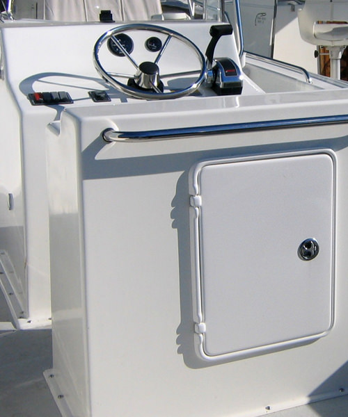 Ocean Scout 20' Center Console - Optional Leaning Post