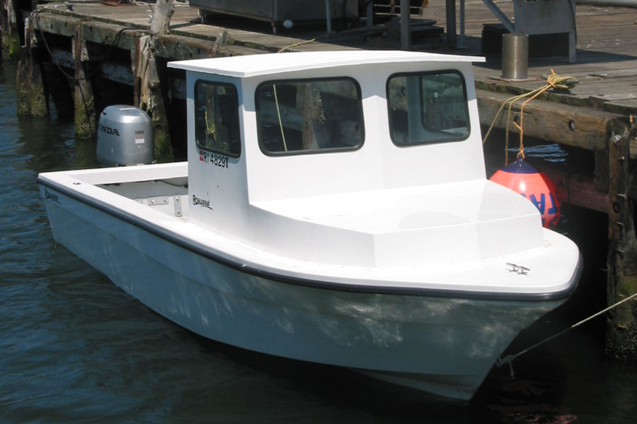 Romarine Boats 24' Off-Shore - Front View