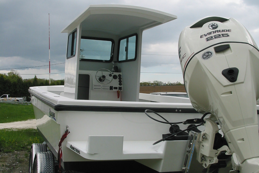 Romarine 24' Pilot House Boat | Bristol, RI