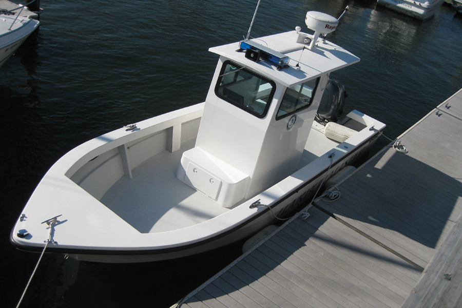 romarine 24 pilot house boat bristol ri